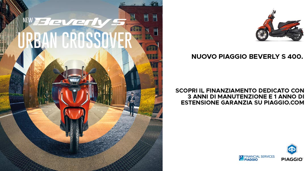New Beverly con Piaggio X-Care+ Caring Pack